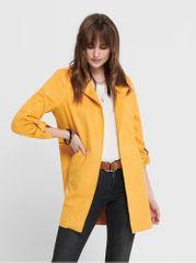 ONLY žlutý dámský kabát Joline