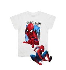 SETINO Chlapčenské tričko s krátkym rukávom Spiderman - biela
