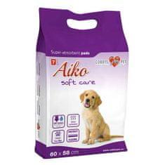 AIKO SOFT CARE 60x58cm 7ks plienky pre psov