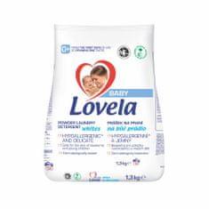 Lovela Baby pralni prah, 1,3 kg/13 pranj, belo perilo