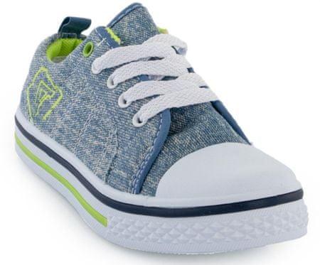 ALPINE PRO fiú cipő SAIRO, 33, kék/zöld