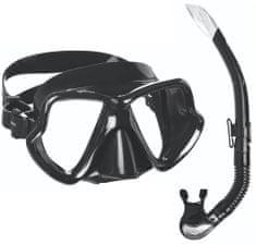 Mares Šnorchlovací set maska+šnorchl Wahoo černý