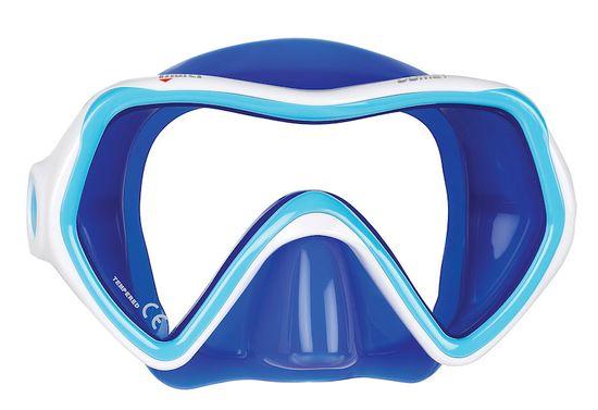 Mares Maska COMET modrá/bílá