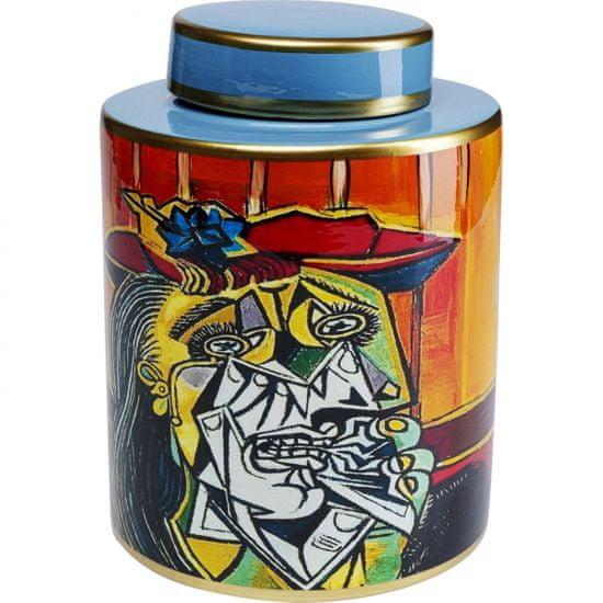KARE Porcelánová dóza Graffiti Art 27cm