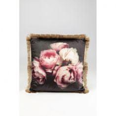 KARE Dekorativní polštář Blush Roses 45x45cm
