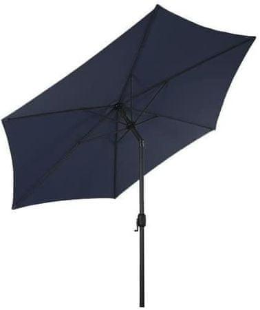 Linder Exclusiv Parasol Knick 250 cm Blue