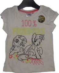 My Little Pony Dívčí tričko My Litte Ponny bílé.