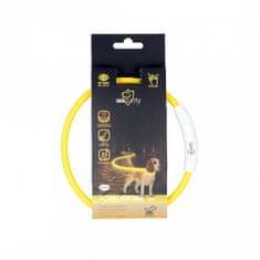 Duvo+ LED világító nyakörv USB töltővel 45cm