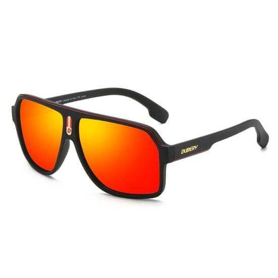 Dubery Alpine 3 slnečné okuliare, Scrub Black / Red