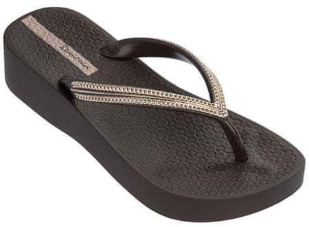 Ipanema Női flip flop papucs Mesh Plat Fem 82527-20973 Brown (méret 38)