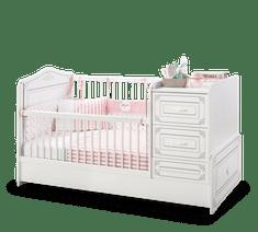 Čilek Dětská rostoucí postýlka SELENA BABY s přebalovacím pultem