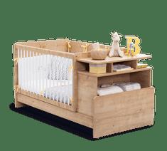 Čilek Dětská rostoucí postýlka MOCHA BABY