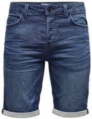 ONLY&SONS ONSPLY22015230 moške kratke hlače Blue Denim