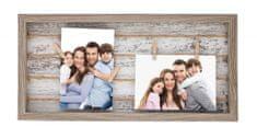 TimeLife Fotorámeček Timelife 42cm dřevěný 1