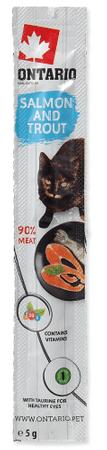 Ontario Baton dla kotów Łosoś i Pstrąg 24x5 g