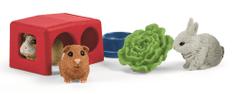 Schleich Zagroda dla królików i świnek 42500