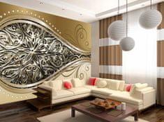 Murando DeLuxe Luxusní tapeta zlaté oko Rozměry (š x v) a Typ: 400x280 cm - vliesové