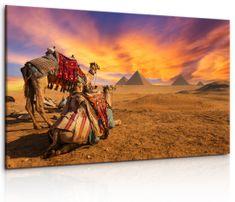 InSmile Obraz Egyptská sahara Velikost: 90x60 cm