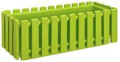 Marex Trade Plastkon truhlík FENCY 50 cm, zelený