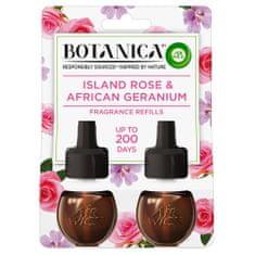 Air wick BOTANICA by AIR WICK tekutá náplň do elektrického prístroja - Exotická ruža a africká pelargónia DUO 19 ml
