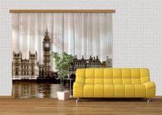 AG design Textilní závěs LONDON FCSXXL7411, 280 x 245 cm (2 ks)