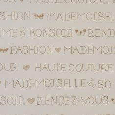 Caselio Papírová tapeta na zeď Caselio 62001001, kolekce GIRLS ONLY, materiál papír, styl moderní, dětský 0,53 x 10,05 m 62001001