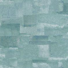 Caselio Vliesová tapeta Caselio 69666150 z kolekce MATERIAL, barva modrá 0,53 x 10,05 m 69666150
