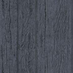 Caselio Vliesová tapeta Caselio 69679101 z kolekce MATERIAL, barva černá 0,53 x 10,05 m 69679101