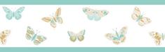 Caselio Papírová bordura na zeď Caselio 100896129, kolekce GIRL POWER 15 x 500 cm