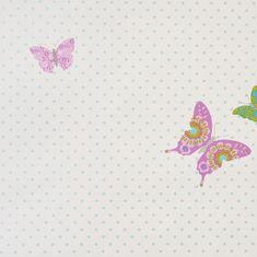 Caselio Papírová tapeta na zeď Caselio 61978030, kolekce GIRLS ONLY, materiál papír, styl moderní, dětský 0,53 x 10,05 m 61978030