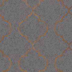 Caselio Vliesová tapeta Caselio 69659039 z kolekce MATERIAL, barva šedá 0,53 x 10,05 m 69659039