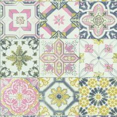Caselio Vliesová tapeta Caselio 69626044 z kolekce MATERIAL, barva bílá 0,53 x 10,05 m 69626044