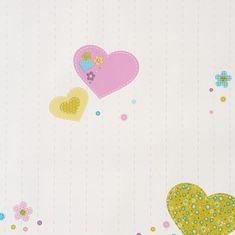 Caselio Papírová tapeta na zeď Caselio 61956075, kolekce GIRLS ONLY, materiál papír, styl moderní, dětský 0,53 x 10,05 m 61956075
