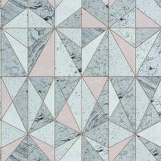 Caselio Vliesová tapeta Caselio 69591045 z kolekce MATERIAL, barva bílá 0,53 x 10,05 m 69591045