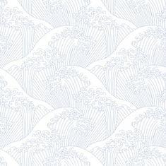 Caselio Vliesová tapeta Caselio 100389404, kolekce Hanami 53 x 1005 cm