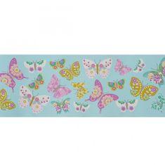 Caselio Papírová bordura Caselio 61988032, kolekce GIRLS ONLY, materiál papír, styl moderní, dětský 17 x 500 cm 61988032