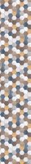 Caselio Designový panel ve vlies provedení na zeď Caselio 100716020, kolekce BISTROT D´ALICE 50 x 280 cm