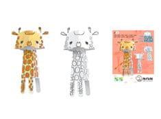 Monumi 3D Žirafa k vymalování
