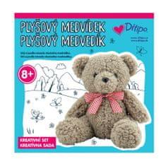 Ditipo Kreativní set - Plyšový medvídek
