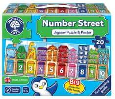 Orchard Toys Ulice plná čísel
