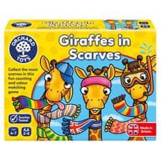 Orchard Toys Žirafy v šálách