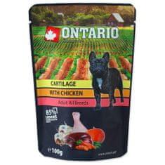 Ontario vrecúška Cartilage with Chicken in Broth 10x100 g