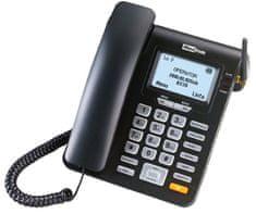 MaxCom MM 28D - stolový telefón na SIM