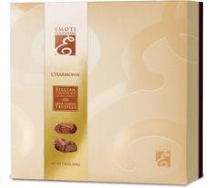 EMOTI  Belgické lanýže z mléčné čokolády L'Harmonie, 200g