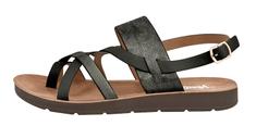 Verde Ženske sandale 28-2977 Black