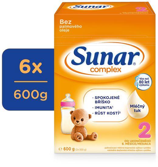 Sunar Complex 2, 6x 600 g