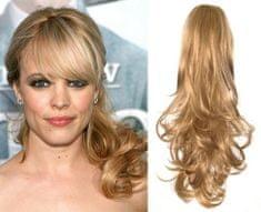 Clip-Vlasy-Levne.cz Clip in příčesek culík / cop 100% japonský kanekalon 60cm kudrnatý - přírodní blond