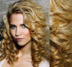 Clip-Vlasy-Levne.cz Clip in kudrnaté vlasy 100% lidské REMY 53cm - přírodní blond