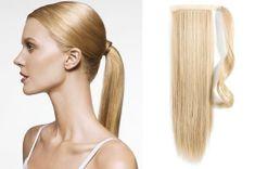 Clip-Vlasy-Levne.cz Clip in příčesek culík/cop 100% lidské vlasy 60cm - nejsvětlejší blond