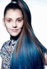 Clip-Vlasy-Levne.cz Clip in pramínek – REMY 100% lidské vlasy – modrá